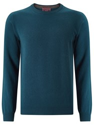 John Lewis Made In Italy Cashmere Crew Neck Jumper Teal