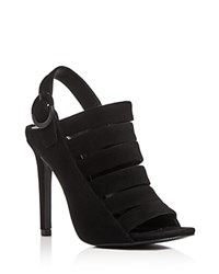 Kendall And Kylie Mia Strappy High Heel Sandals Black