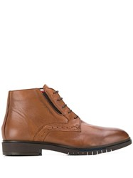 Tommy Hilfiger Advance Ankle Boots Brown