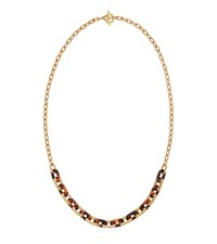 Michael Kors Gold Tone Link Necklace