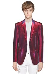 Lords And Fools Iridescent Lurex Evening Jacket