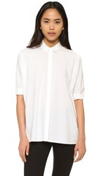 Baldwin Denim Delphine Shirt Off White