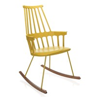 Kartell Comback Rocking Chair Yellow
