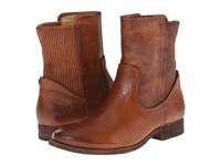 Frye Melissa Scrunch Short Cognac Antique Pull Up Women's Pull On Boots Brown