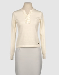 Bramante Long Sleeve Sweaters Ivory