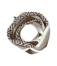 Sanuk Too Knit To Quit Blanket Infinity Scarf Tan Heather Scarves