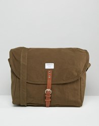 Sandqvist Jack Messenger Bag In Olive Green