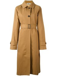 Jil Sander Croquette Trench Coat Nude Neutrals