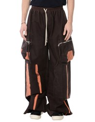 Rick Owens Casual Pants Dark Brown