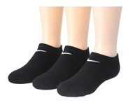 Nike Cotton Cushioned No Show With Moisture Management 3 Pair Pack Black White Women's No Show Socks Shoes