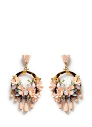 J.Crew Mardi Gras Earrings Pink