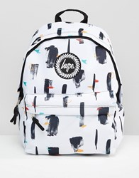 Hype Canopy Backpack White