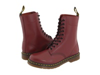 Dr. Martens 1490 Cherry Red Smooth Lace Up Boots
