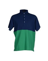Bafy Topwear Polo Shirts Men Dark Blue