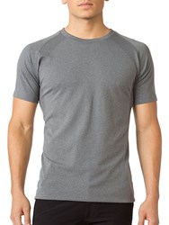 Mpg Uplift Seamless Tee Heather Charcoal