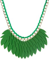 Sweet Deluxe Geertje Necklace Silvercoloured Green
