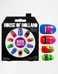 Eylure House Of Holland Nails By Elegant Touch Mental Monsters Mentalmonsters