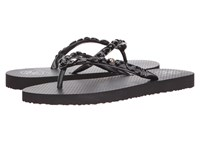 Tory Burch Jeweled Flip Flop Black