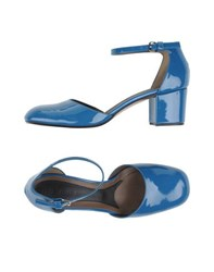 Marni Footwear Courts Women Pastel Blue