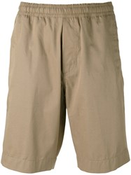 Our Legacy Relaxed Shorts Men Cotton 50 Brown