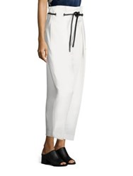3.1 Phillip Lim Origami Pleated Pants Antique White