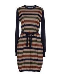 Aquascutum London Aquascutum Short Dresses Dark Blue