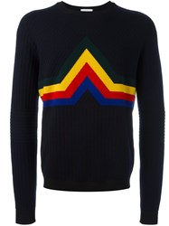 Iceberg Crew Neck Jumper Blue