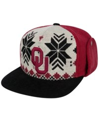 Top Of The World Oklahoma Sooners Christmas Sweater Strapback Cap