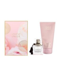 Lalique L'amour Edp And Body Lotion Gift Set