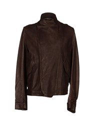 Collection Privee Collection Privee Jackets Dark Brown