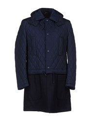 Siviglia Coats And Jackets Coats Men Dark Blue