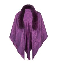 Elie Saab Fur Trimmed Stole Female