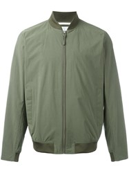 Norse Projects Zip Bomber Jacket Green