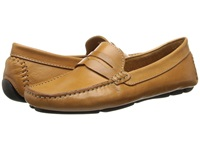 Massimo Matteo Penny Keeper Tan Bison Women's Moccasin Shoes