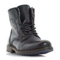 Dune Chichester Double Collar Casual Boots Black