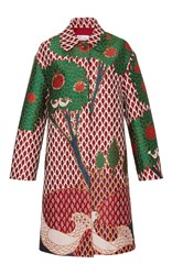 Red Valentino Embellished Coat Multi