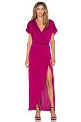 Lovers Friends Seneca Maxi Dress Fuchsia