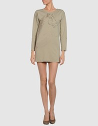 Virginie Castaway Dresses Short Dresses Women Light Grey
