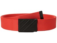 Adidas Golf Webbing Belt Hi Res Red Belts