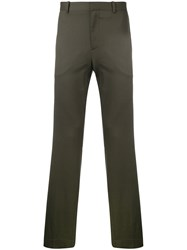 Theory Tailored Trousers Green