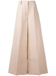 Valentino Wide Legged Trousers Pink Purple