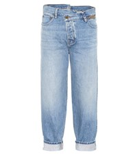Monse Cropped Jeans Blue