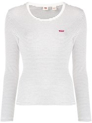 Levi's Long Sleeved Baby T Shirt 60