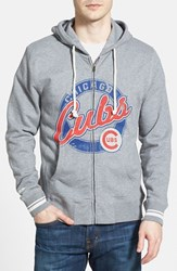 Men's Mitchell And Ness 'Chicago Cubs' Full Zip Hoodie
