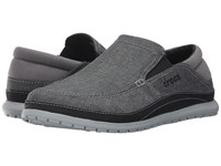 Crocs Santa Cruz Playa Slip On Graphite Light Grey Slip On Shoes Multi