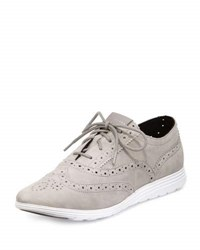 Cole Haan Grand Tour Oxford Sneaker Light Gray