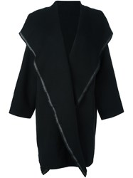Dusan Oversized Coat Black