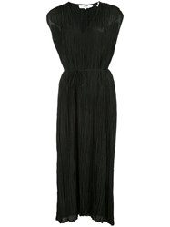 Vince Pleated Dress Black