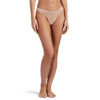 Cosabella Soire Confidence Mesh Thong Brown
