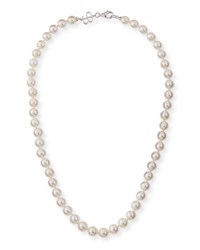 Belpearl 8.5Mm Akoya Pearl Necklace In 18K White Gold 18 L
